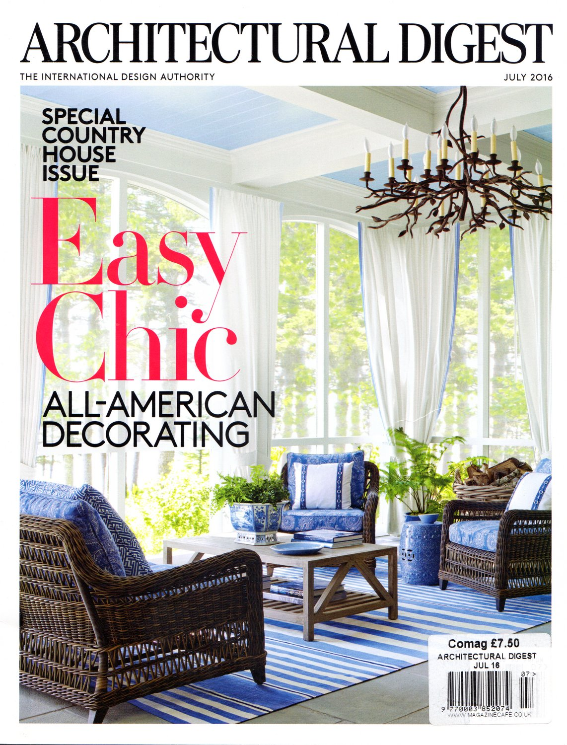 Architectural Digest cover_2016-07