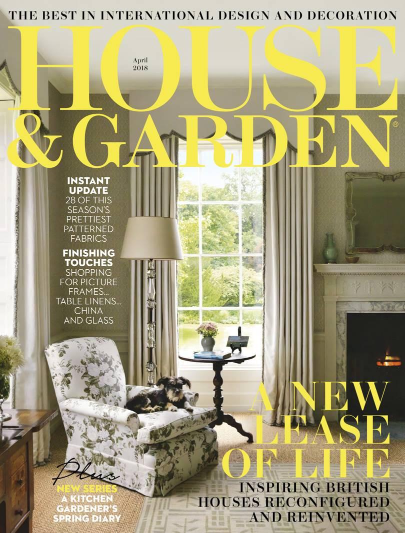 Cover House _ Garden April 2018